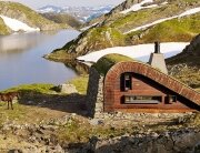 Tiny Lakeside Lodge - Snøhetta - Norway - Exterior 2 - Humble Homes