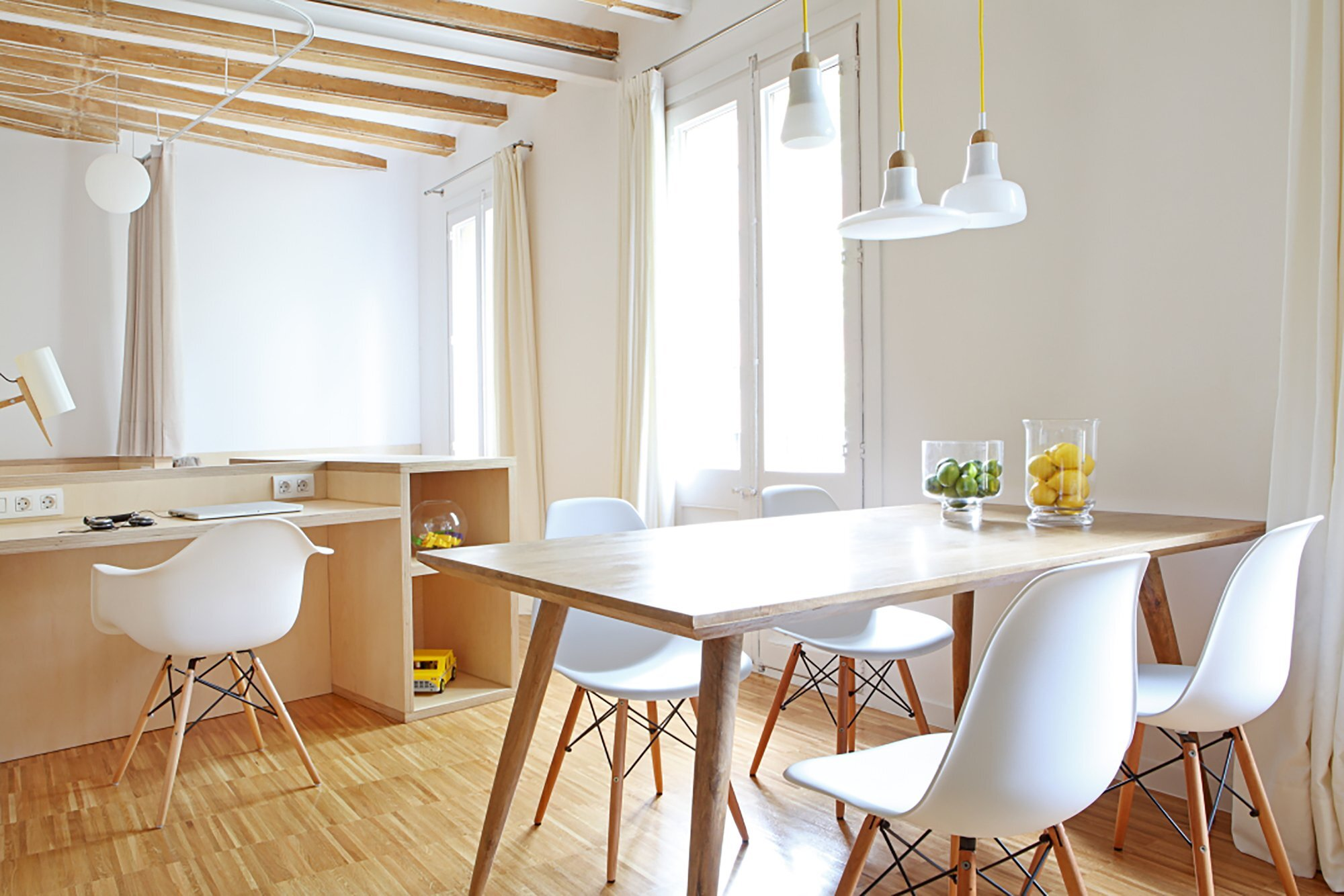 A Bright And Airy Apartment In Barcelona