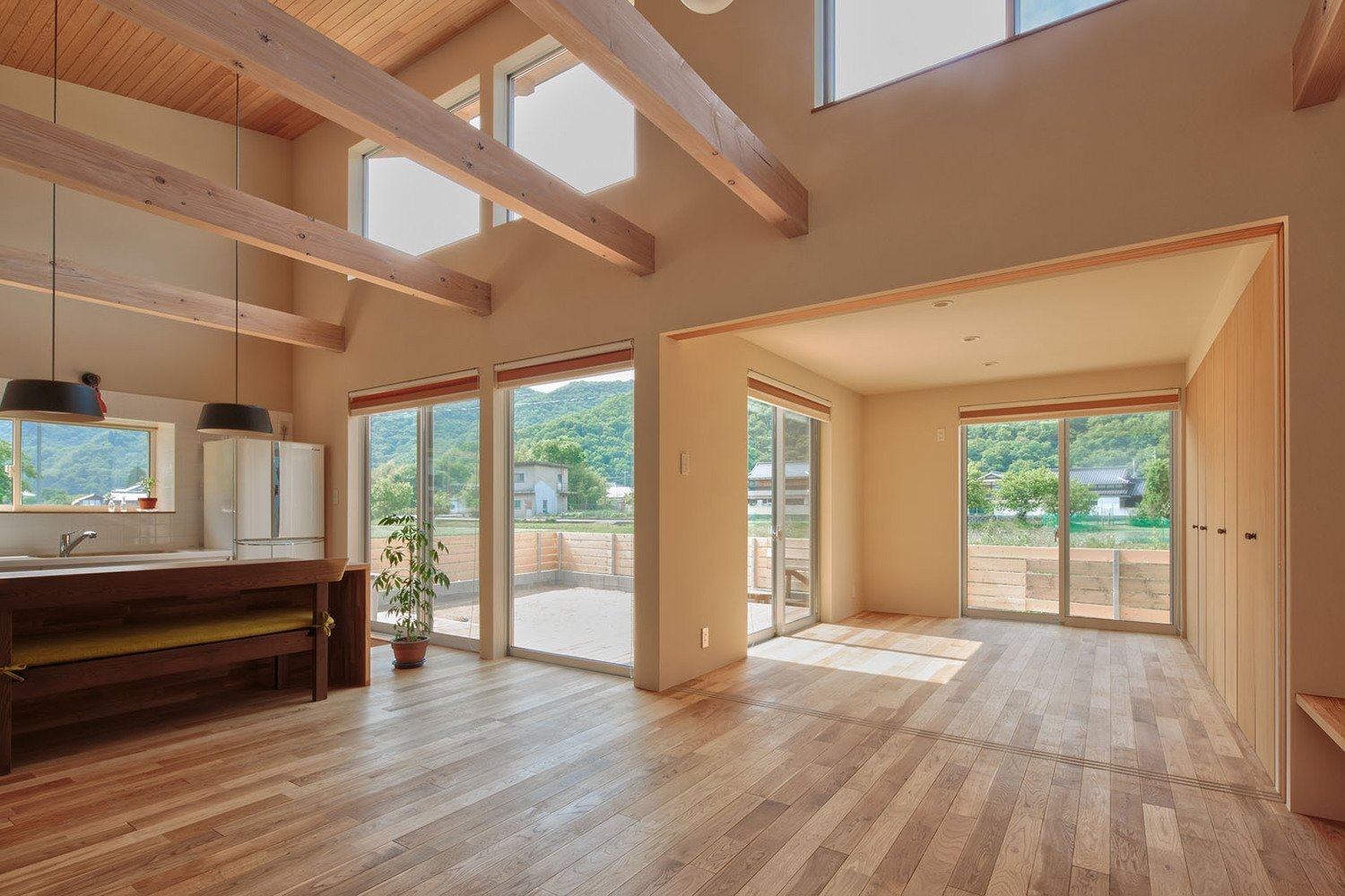 Japanese houses for What is a vaulted ceiling