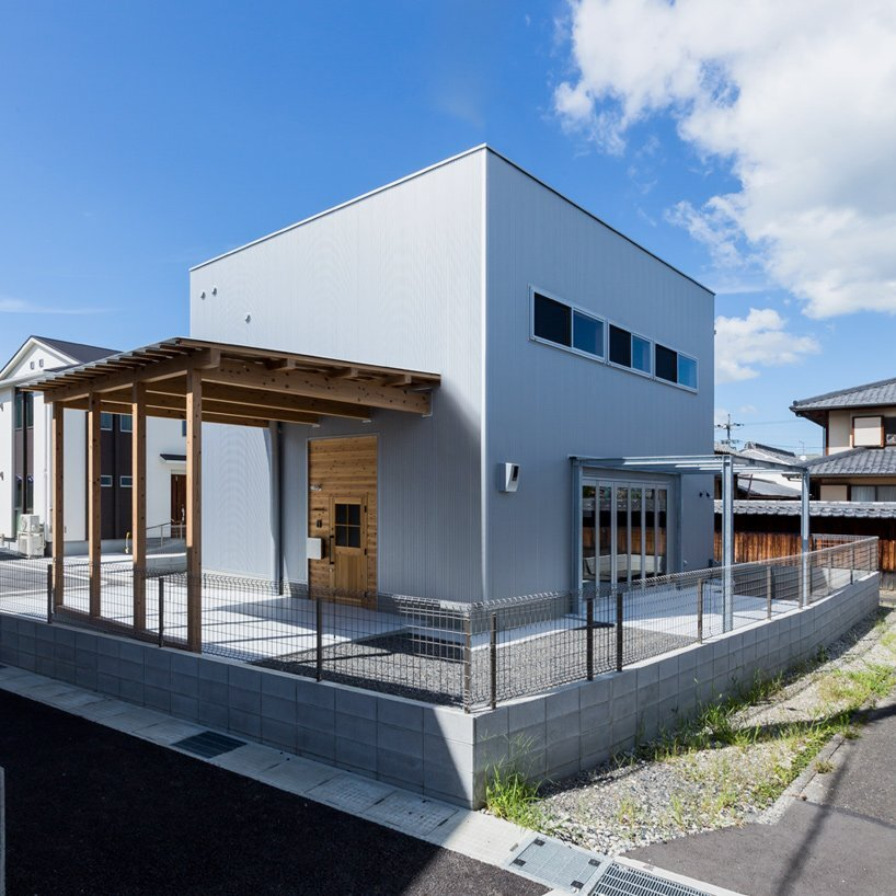 Ishibe House A Small Industrial Inspired Home For A