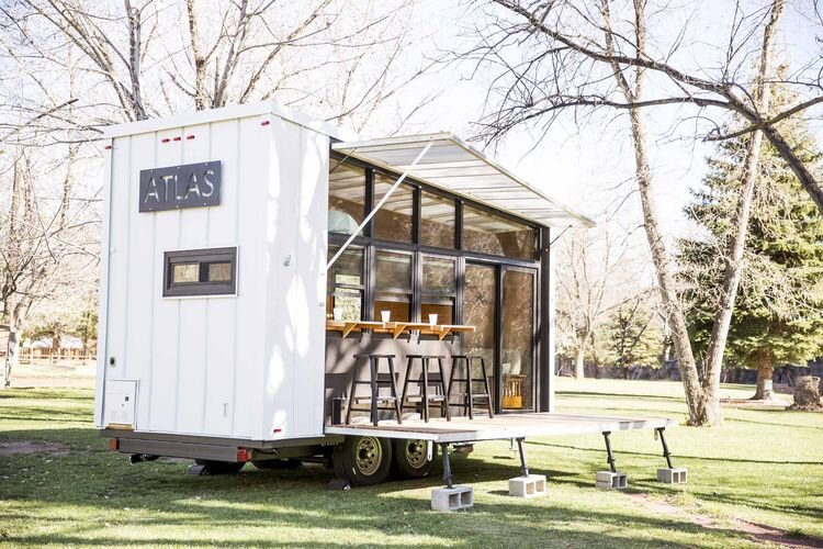 Atlas A 196 Square Foot Tiny House On Wheels By F9