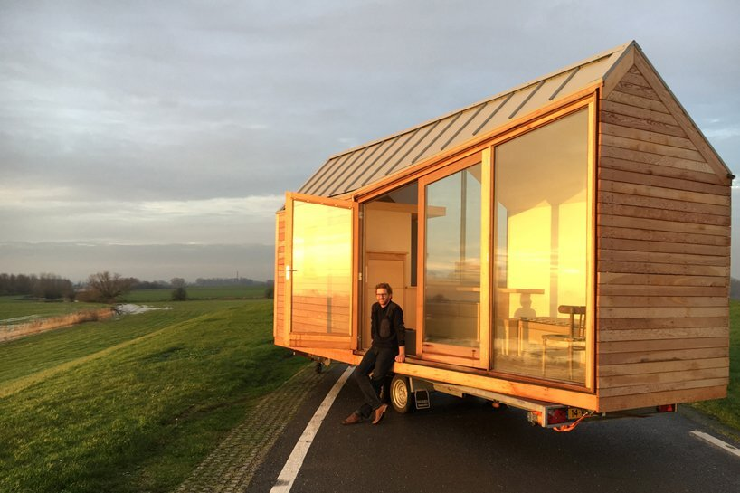 2 together with 20 Smart Micro House Design Ideas That Maximize Space furthermore A 3 Bedroom Tiny House On Wheels in addition 261589 additionally zookcabins. on small houses on wheels