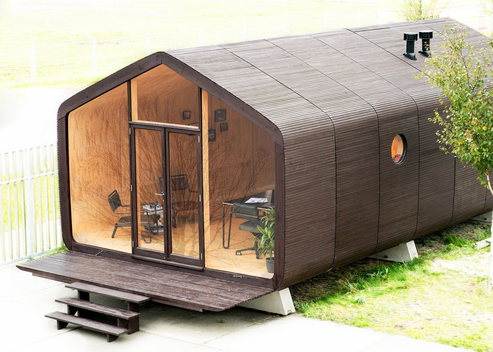 The LoftCube Takes Stylish Prefab Living To New Heights