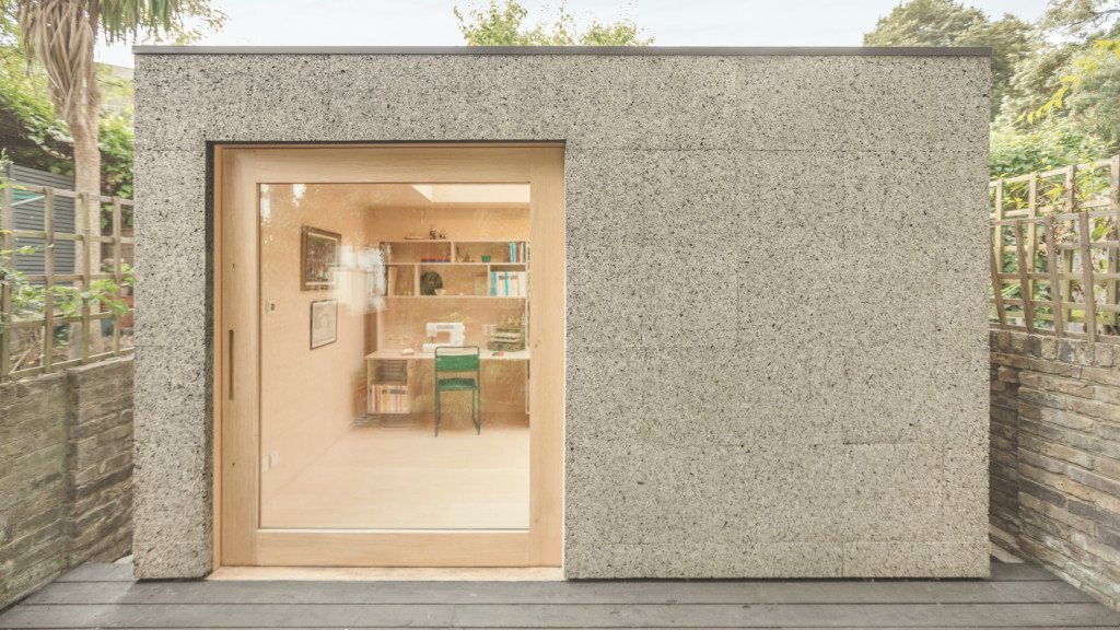 Surman Weston Create A Cork Clad Garden Studio For
