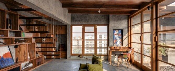 Veranda on a Roof - Studio Course - India - Living Room 1 - Humble Homes