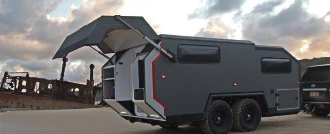 Exp 6 Off Raod Camper - BruderX - Australia - Exterior 2 - Humble Homes