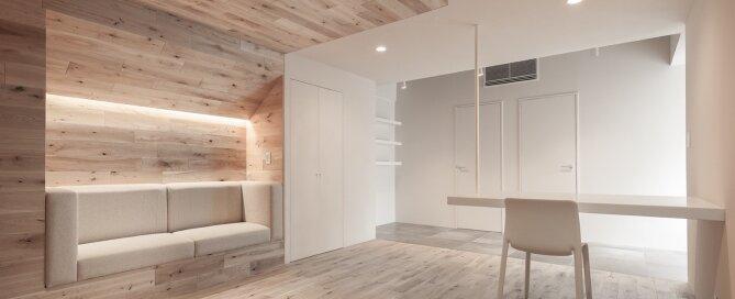 Shibuya Apartment 201 - Hiroyuki Ogawa Architects - Japan - Living Area 2 - Humble Homes