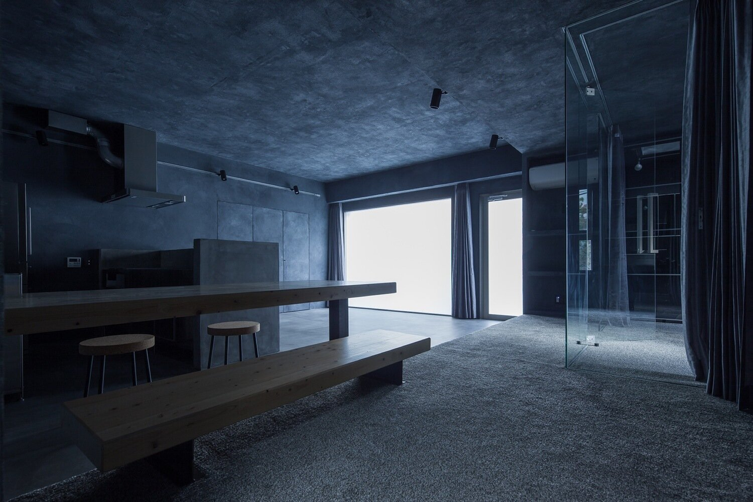 Shibuya Apartment 202 - Hiroyuki Ogawa Architects - Japan - Living Area 2 - Humble Homes