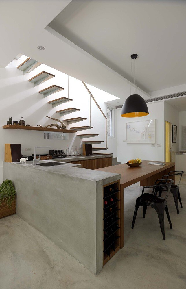 A Eulogy to the Sunlight - YU YA CHING Interior Design - Taiwan - Kitchen - Humble Homes
