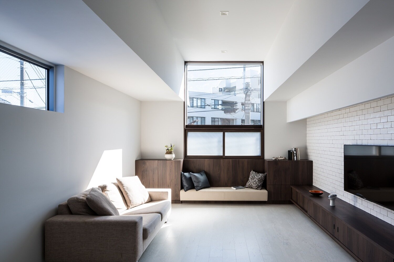 Adorable House - FORM Kouichi Kimura Architects - Japan - Living Room 1 - Humble Homes