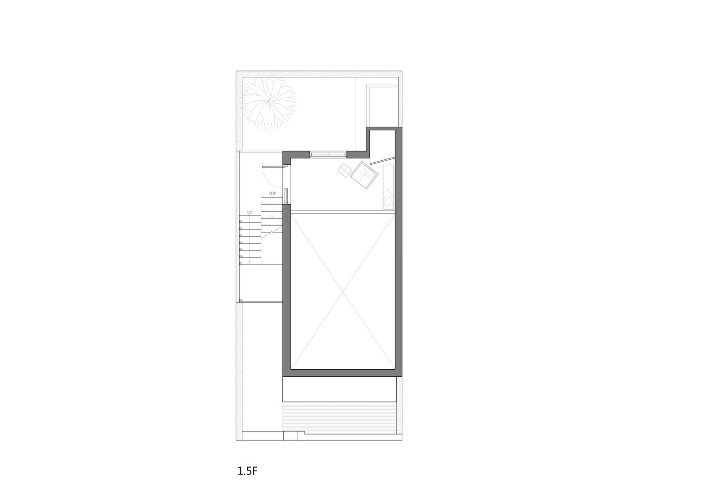 House H - HAO Design - Taiwan - Floor Plan 1 - Humble Homes