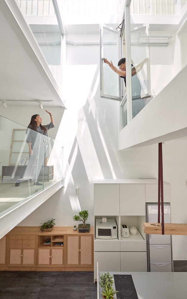House H - HAO Design - Taiwan - Interior 1 - Humble Homes