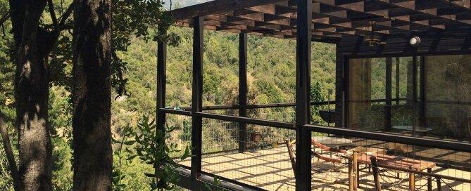 La Pajarera Lodge Shangri - SAA arquitectura + territorio - Chile - Deck - Humble Homes