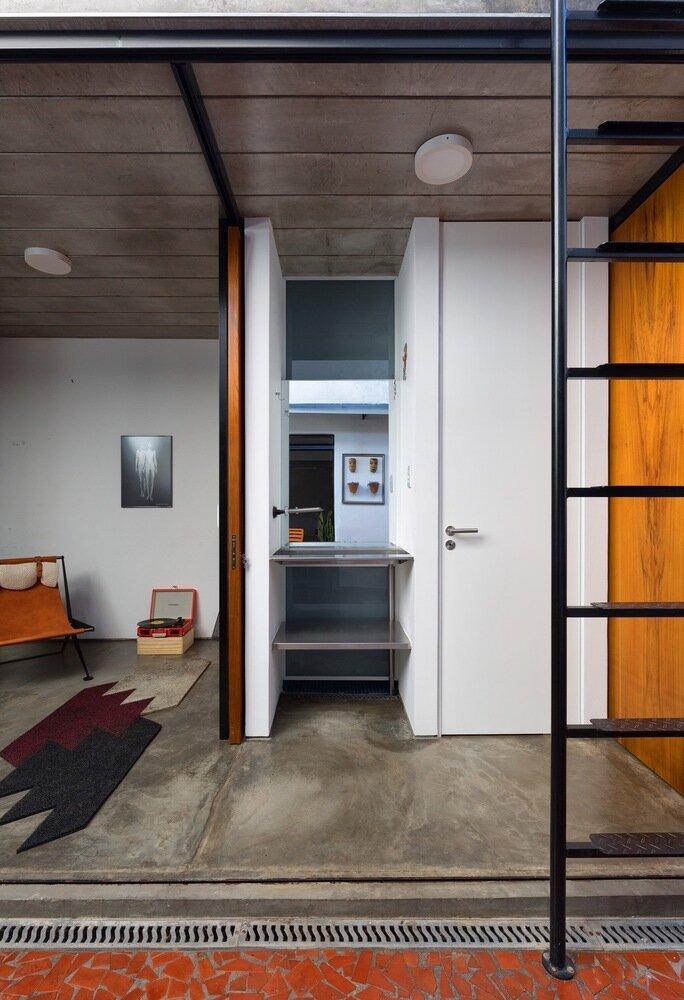 Puxadinho VAGA Brasil Bathroom Humble Homes