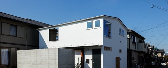 S-House - Coil Kazuteru Matumura Architects - Japan - Exterior - Humble Homes