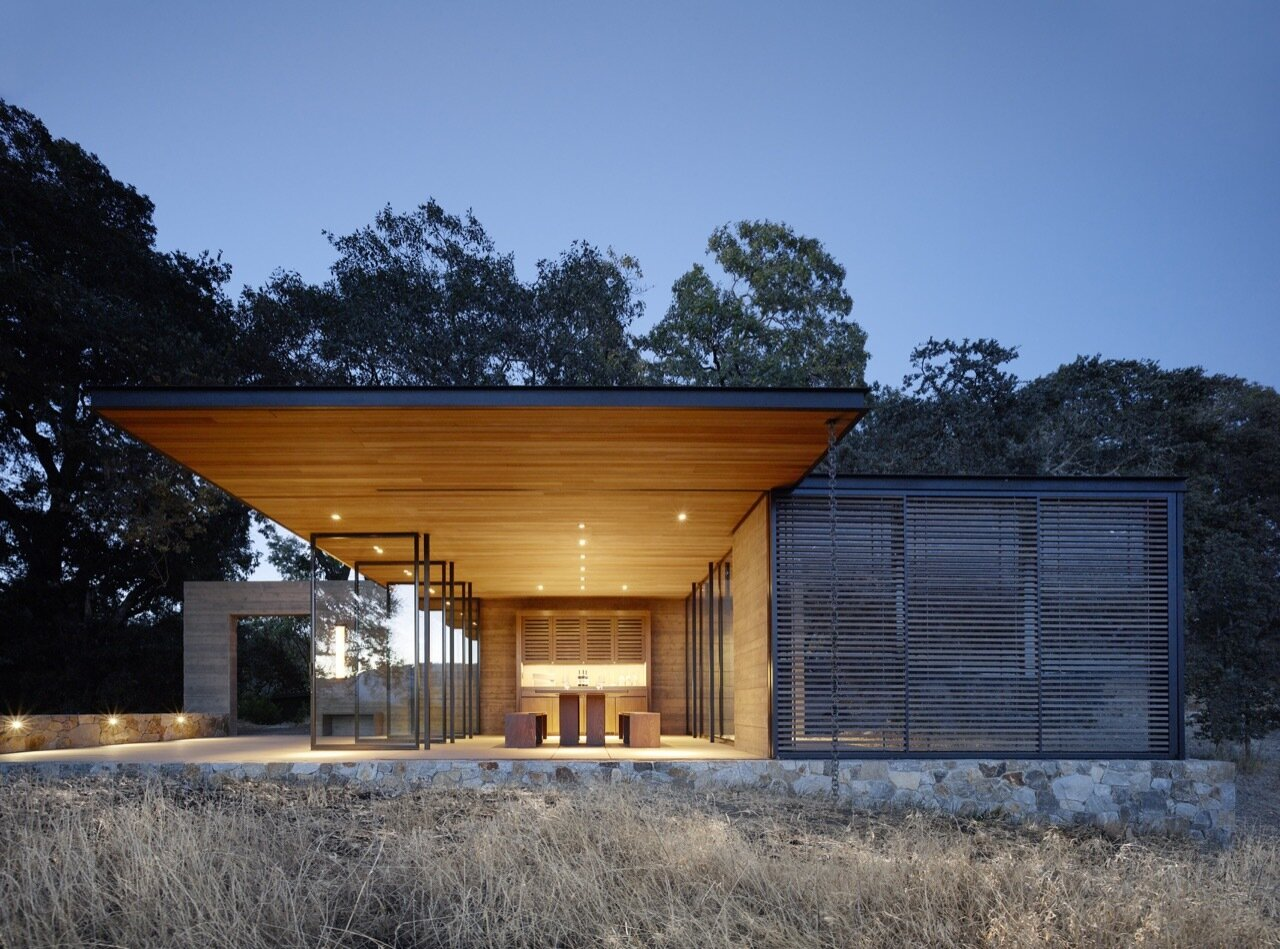 Quintessa Pavilions - Walker Warner Architects - United States - Exterior - Humble Homes