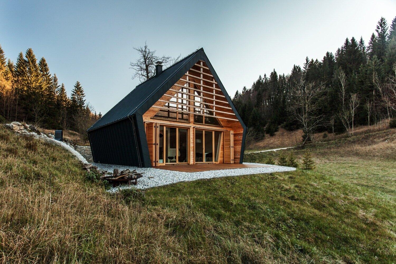The Wooden House studio PIKAPLUS Slovenia Exterior Humble Homes