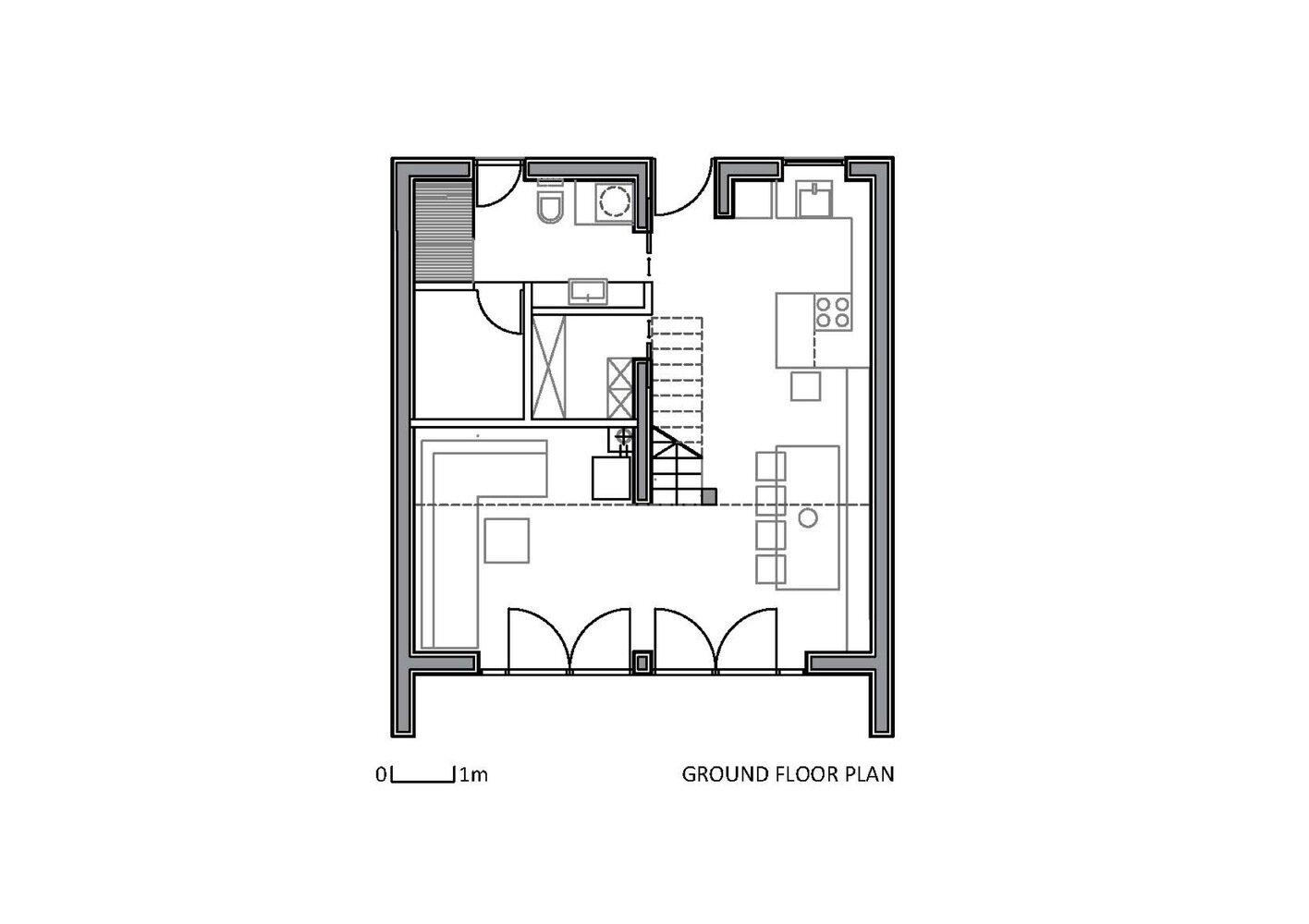 The Wooden House studio PIKAPLUS Slovenia Floor Plan 1 Humble Homes