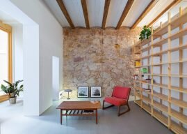 Can Ghalili – A Barcelona Apartment Renovation by LoCa Studio That Fuses Old and New
