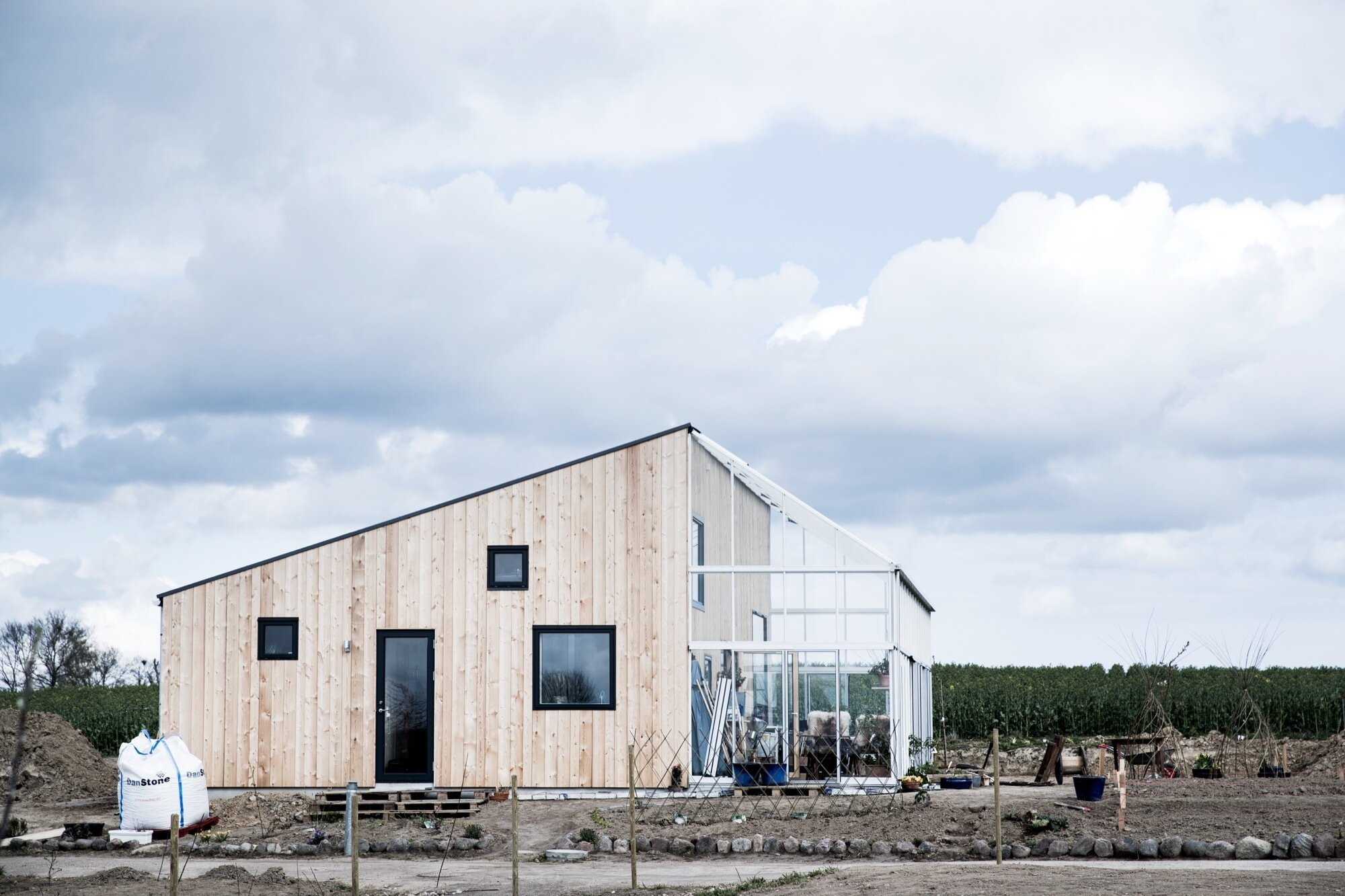The Green House A Small Sustainable Home From Denmark By Sigurd Larsen