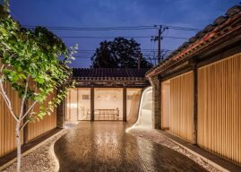 Beijing Courtyard Home by ARCHSTUDIO Balances Modern And Traditional Features