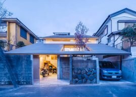 Administrative House – A Home for a Biker Family from Japan