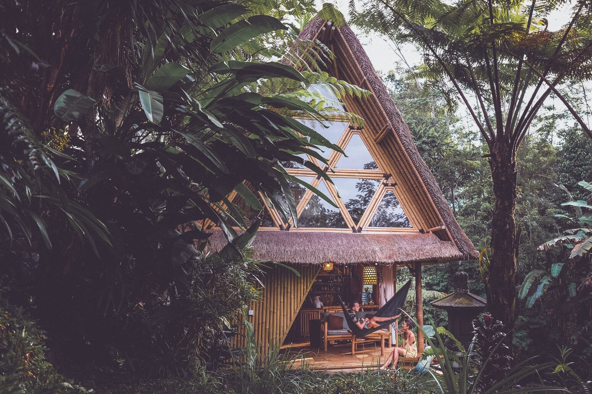 Hideout Bali Is A Unique Home Set Among The Jungle Forest