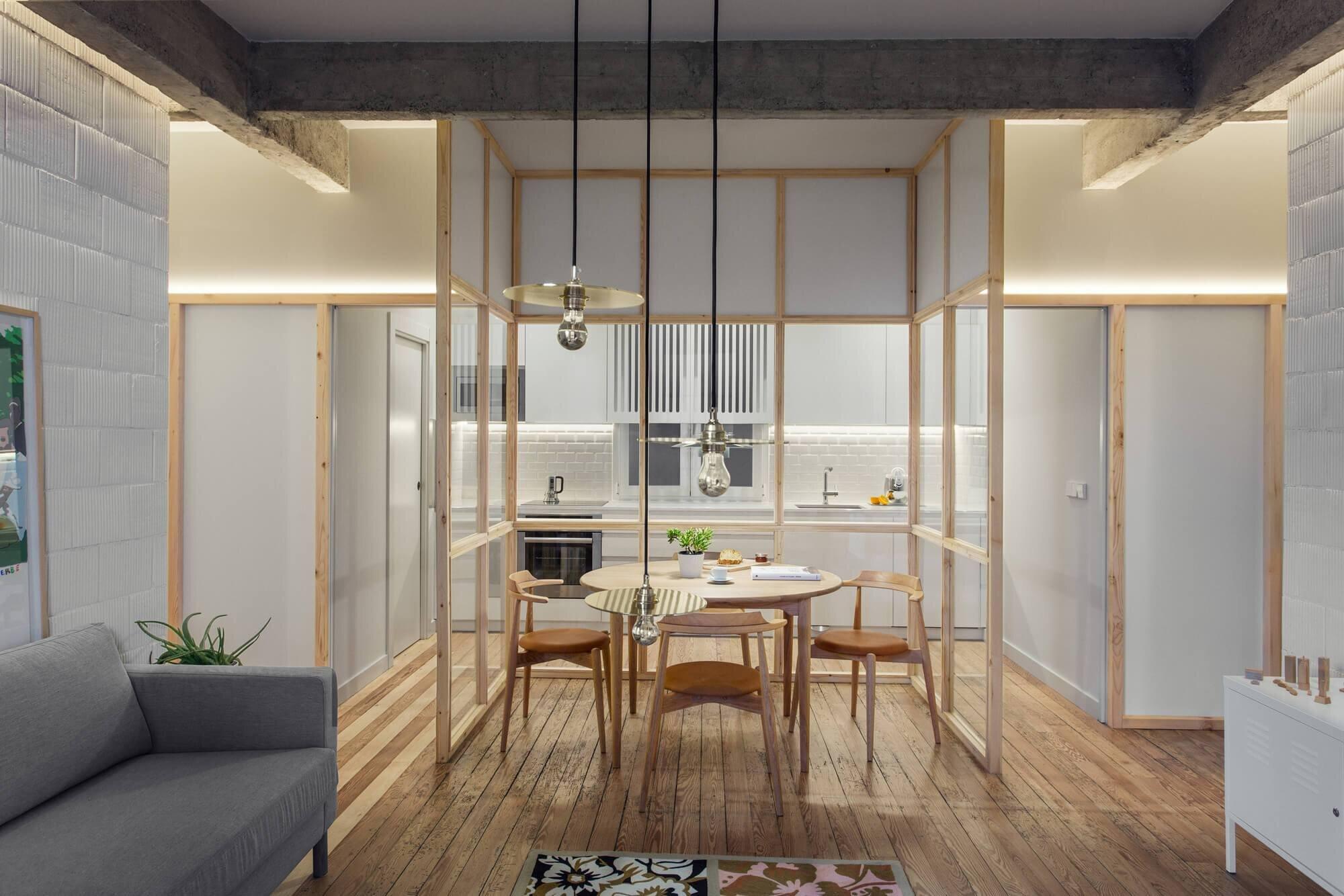 Pauzarq architects transform a floor in an old house into - Arquitectos en bilbao ...