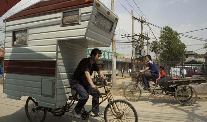 Kevin Cyr Caravan Bike