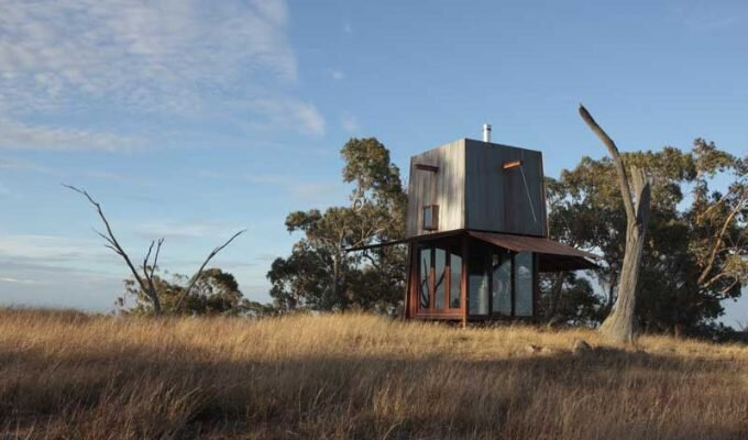 Tiny Off-Grid House by Caroline Casey and Robert Brown