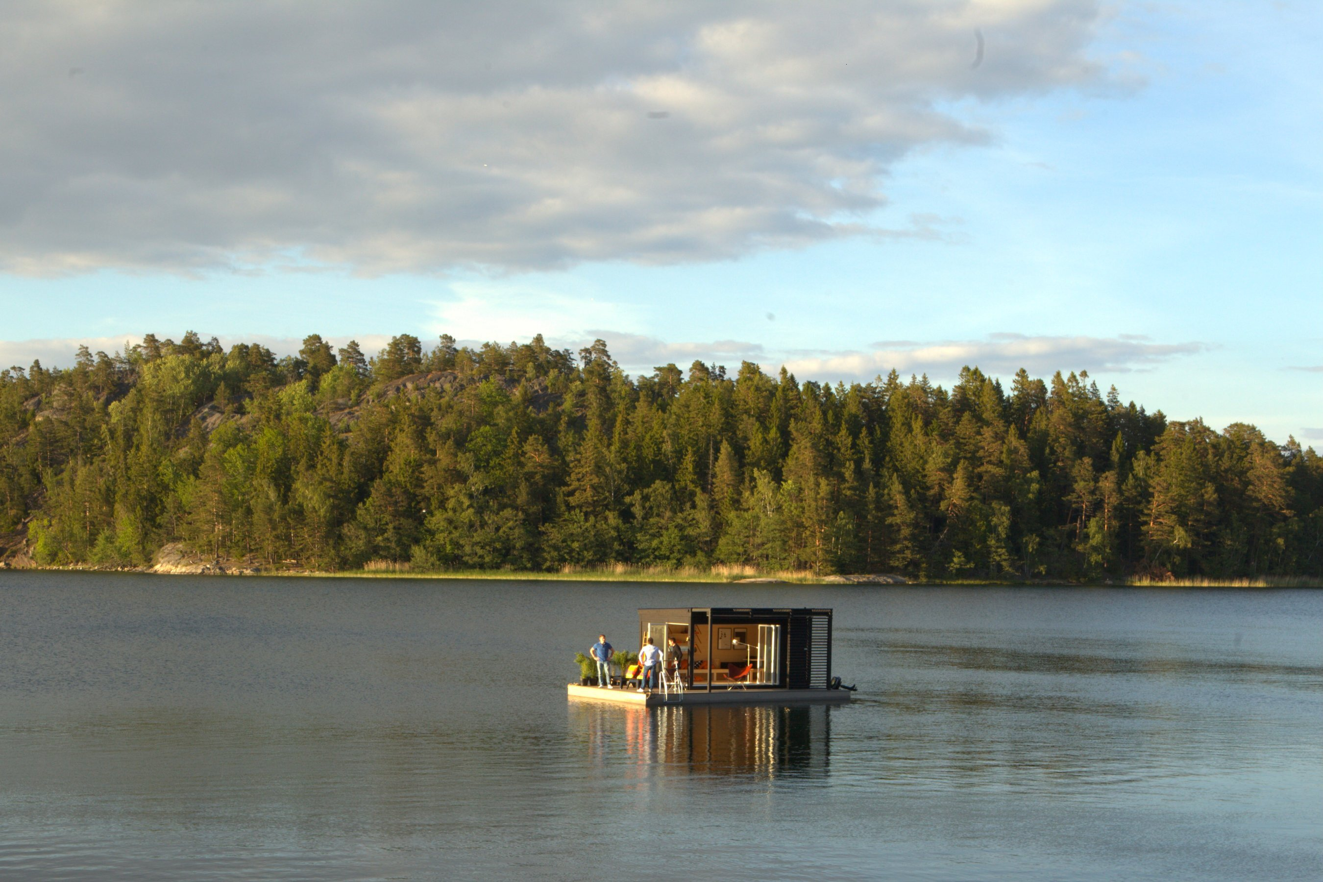 Tiny Floating Cabin