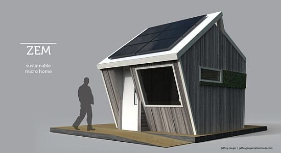 The ZEM Sustainable Micro Home
