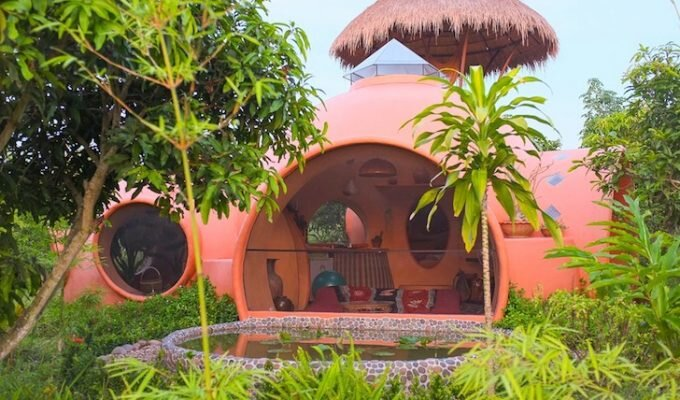 Thai Dome Home by Steve Areen