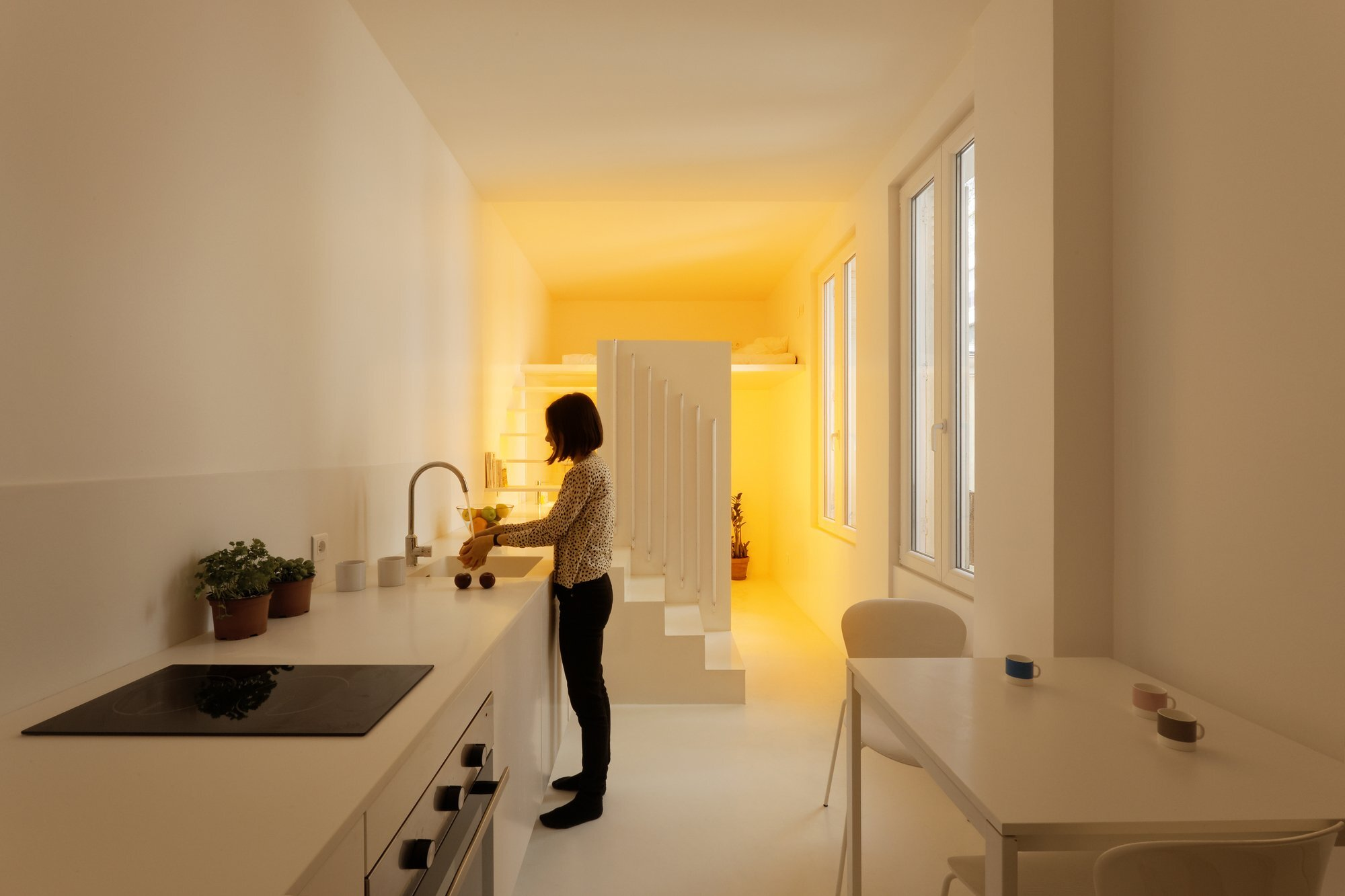 Appartement Spectral - BETILLON DORVAL‐BORY - Paris - France - Tiny Apartment - Kitchen - Humble Homes