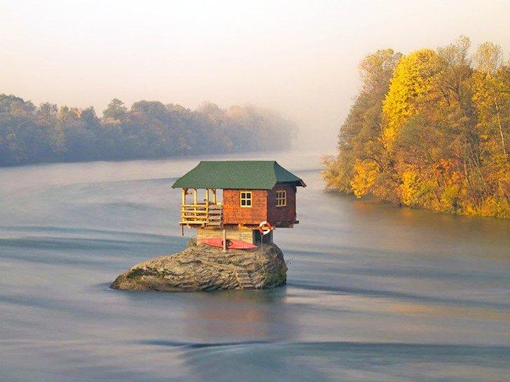 Drina River Home Serbia