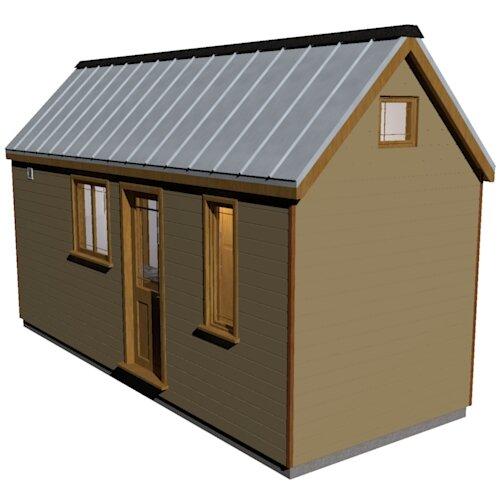 Humblebee Tiny House Plans
