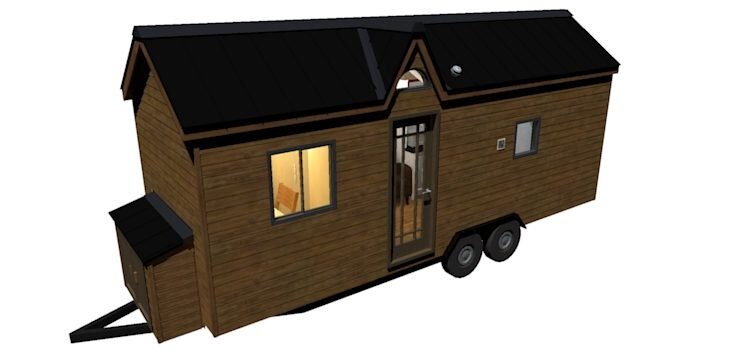 The Turtle Tiny House Plans