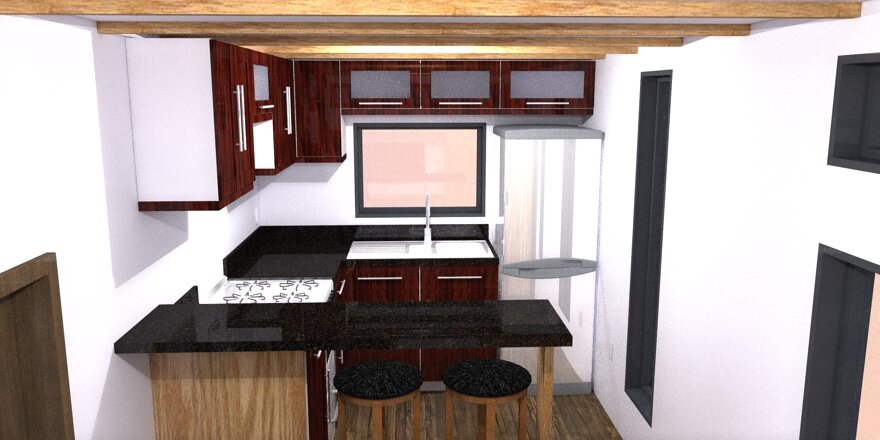 The Athru Tiny House Plans