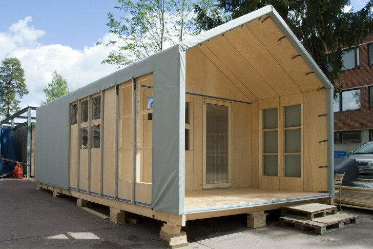 Liina Transitional Shelter Changes To Suit Your Needs