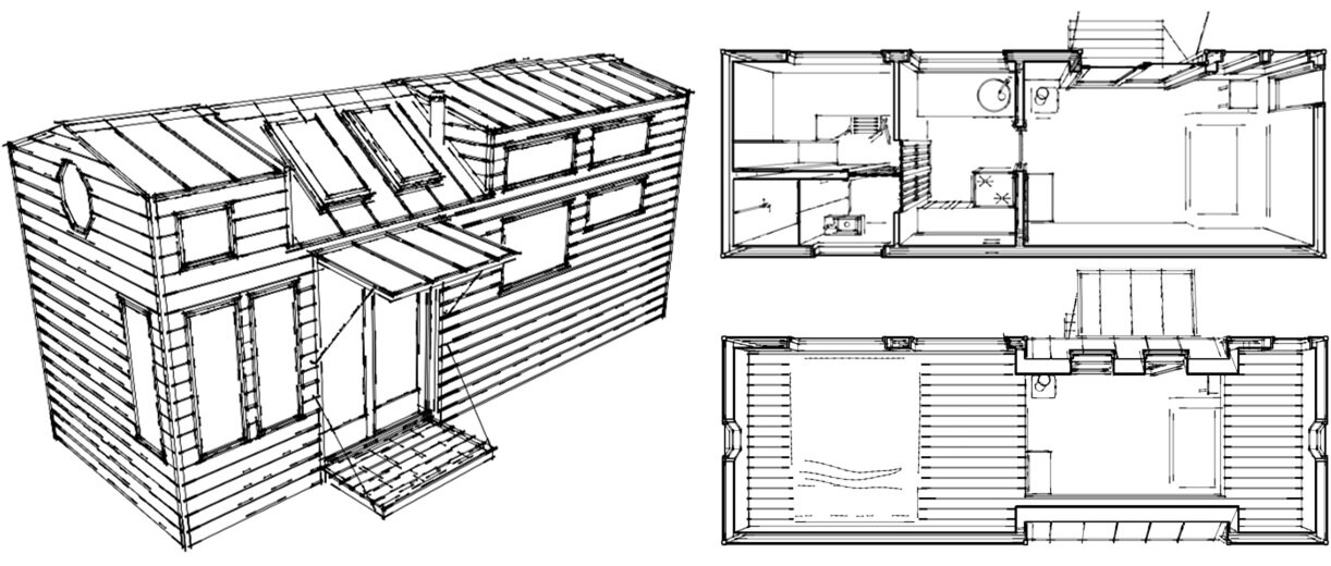tiny house plans & unpublished works