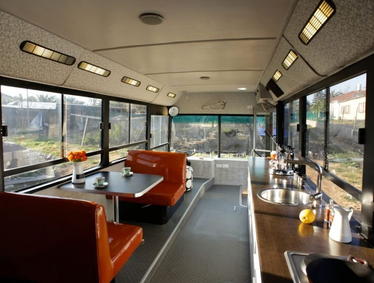 Bus Converted into a Tiny House