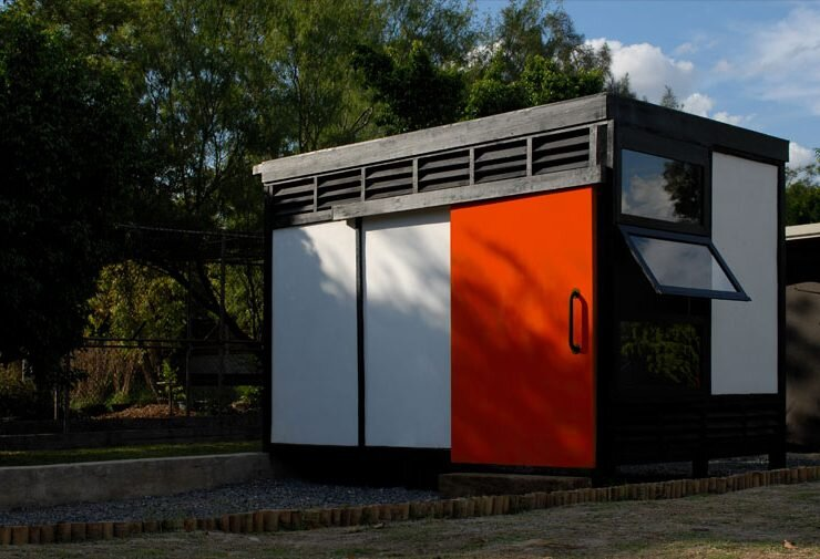 Modolo Modular Tiny Shelter in Northern Mexico