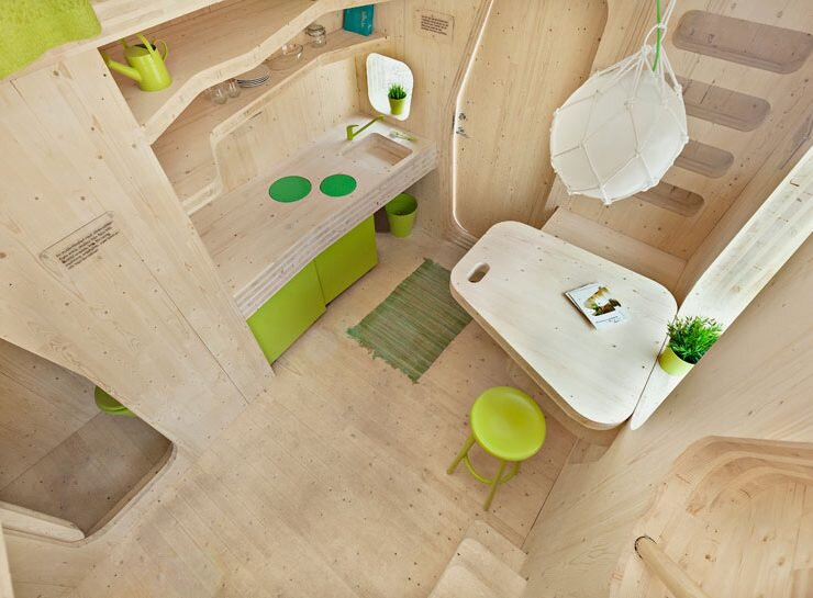 Student Micro Housing by Tengbom Architects
