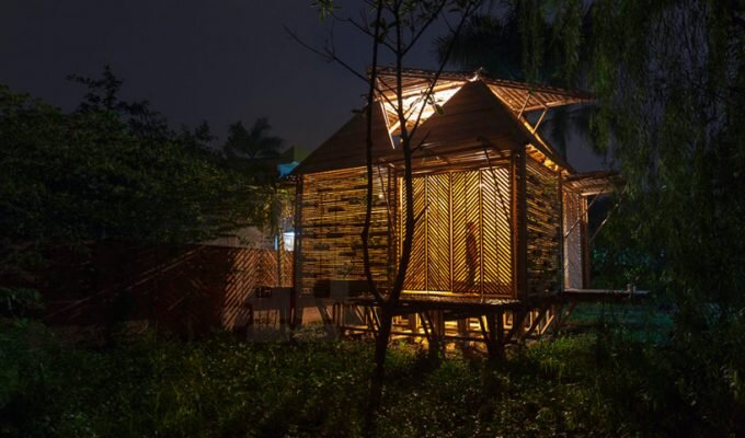The Blooming Bamboo Home by H&P Architects