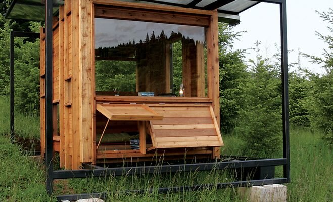 The Watershed - An Off-Grid Writer's Retreat