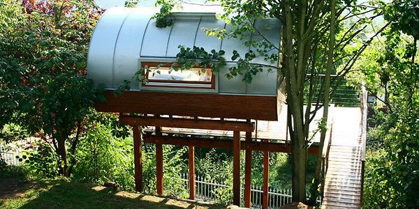 River View Treehouse By Baumraum