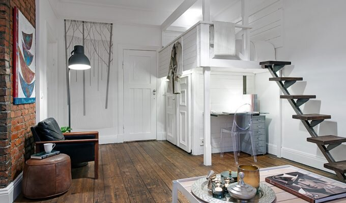Small Swedish Apartment in Gothenburg