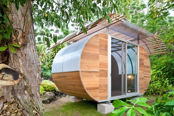 House Arc by Bellomo Architects - Prefab Modular Tiny House - Humble Homes