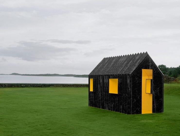 White Arkitekter Chameleon Cabin Designboom - Humble Homes