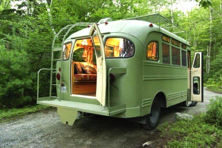 Winkelman Architecture - Chevrolet Viking Bus Makeover - Humble Homes